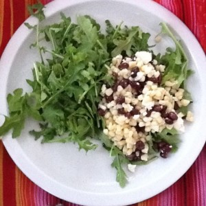Corn, Feta, and Black Bean Salad