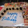 Train Cake, file under messy baking