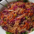 Vegetable Lo Mein with Apricot-Sesame Glaze