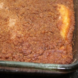 Grandma Ruth's Double Streusel Coffee Cake & Einstein's Theories