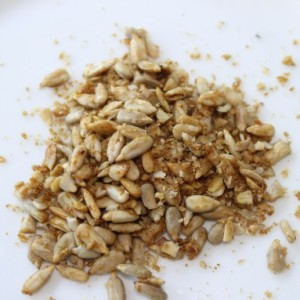 Curried Sweet Sunflower Seeds & Throwing Caution to the Wind