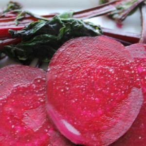 Beet Salad with Lime Vinaigrette (Raw) & School's Out for Summer
