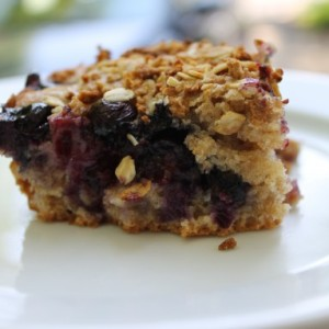 Cottage Blueberry Crumb Cake & Broken Hearts