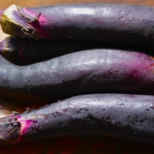 Baked Italian Eggplant Polenta with Parmesan & No Place like Om