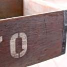Vintage Wooden '70' Crate