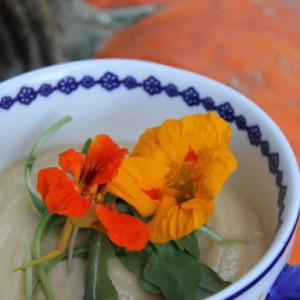 Cauliflower Cheddar Soup & In Praise of Canada
