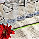 Vintage Glass Canning Jars