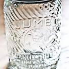 Vintage Glass Peanut Butter Jar