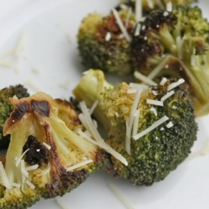Crispy Broccoli Florets & Healthy Eating