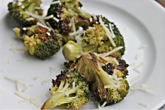 Crispy Broccoli Florets | The Well-Cooked Life
