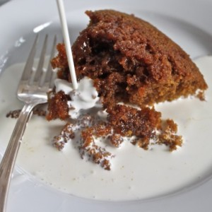 Molten Butterscotch Cake (Steamed Treacle Pudding) & A Very British Afternoon