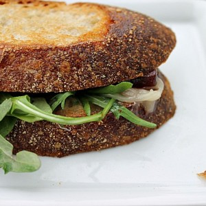 Ultimate Grilled Cheese (Triple Creme, Quince, and Arugula) & Other Places