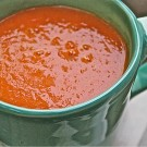 Tomato-Onion Soup with Fresh Parmesan & Happy Days