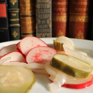 Quick Radish Pickles & Recovery