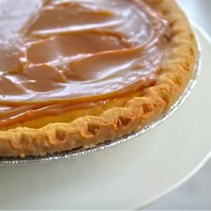 Pumpkin Dulce de Leche Pie & Happy Thanksgiving