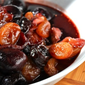 Fig-Apricot Compote & Giving Thanks