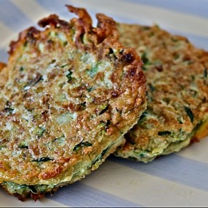 Gluten Free Zucchini & Parmesan Fritters & Coming Home