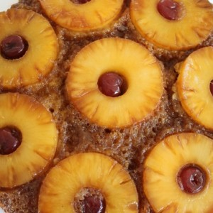 Old Fashioned Pineapple Upside Down Cake & Upside Down Cooking