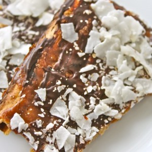 Toffee-Dark Chocolate Matzo Crunch & Loving the Rainbow